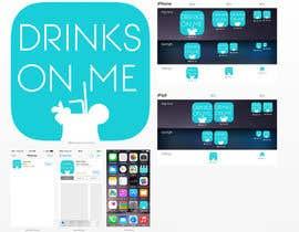 ChrisTzelas tarafından Design a Logo for the app Drinks On Me için no 28