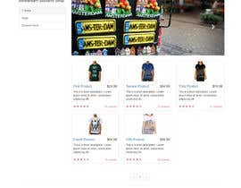 Nro 3 kilpailuun Build a three page for an e-commerce Store käyttäjältä AlexisDolores
