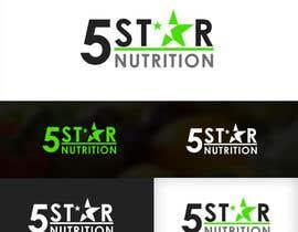 ZWebcreater tarafından Design a Logo - 5 Star Nutrition için no 755