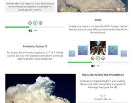 saboradu94 tarafından Design Homepage Layout For Cloud Storage App için no 41