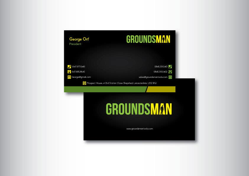 Penyertaan Peraduan #113 untuk Design some Stationery for Groundsman, cards, letter heads and email footers