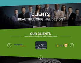 Nro 2 kilpailuun Design a 4 page Website Mockup for us käyttäjältä raheelzaher