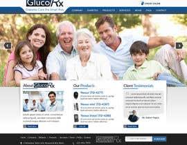 #50 for Design a WebGluco RX Websitesite Mockup by imrickmiller