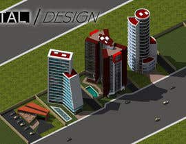 DigitalDesignmx tarafından 100+ isometric building designs for mobile city building game için no 29