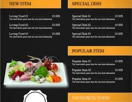 atwebdp tarafından Design a menu card için no 4