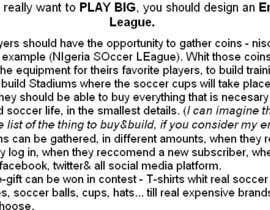 Roxana9 tarafından Idea for a daily/weekly fantasy football (soccer) league için no 5
