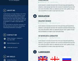 basili97 tarafından Design a personal CV and work history ( with sketch simple drawing ) için no 14