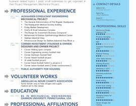 bagas0774 tarafından Design a personal CV and work history ( with sketch simple drawing ) için no 6