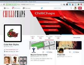 ShahrozFarooq tarafından Design a Twitter background için no 13