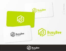 brendlab tarafından Logo Design for BusyBee Eco Clean. An environmentally friendly cleaning company için no 343