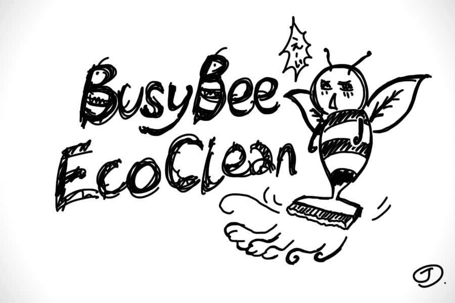 Конкурсная заявка №350 для Logo Design for BusyBee Eco Clean. An environmentally friendly cleaning company