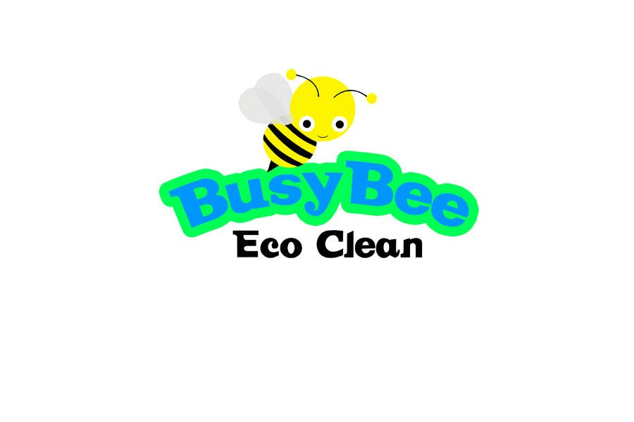 Конкурсная заявка №205 для Logo Design for BusyBee Eco Clean. An environmentally friendly cleaning company