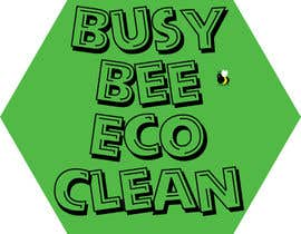 #346 para Logo Design for BusyBee Eco Clean. An environmentally friendly cleaning company de stanbaker