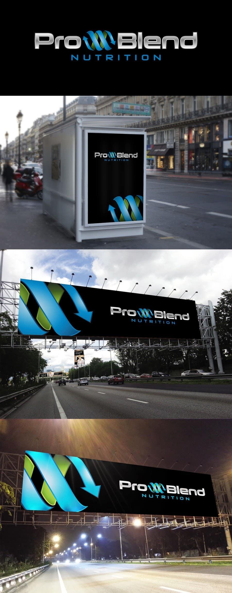 #403 for Design a Logo for PRO-BLEND NUTRITION by alkalifi