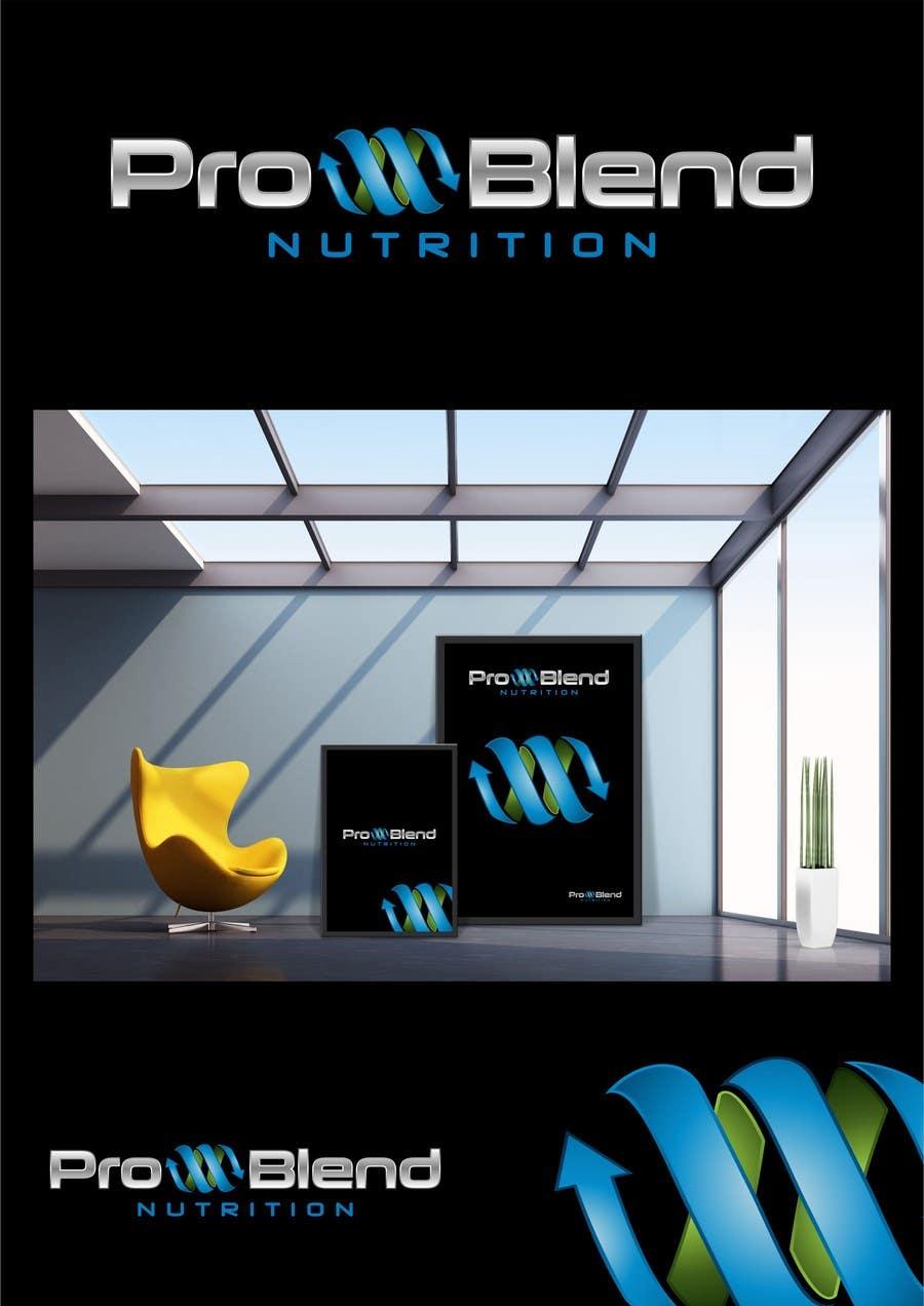 #431 for Design a Logo for PRO-BLEND NUTRITION by alkalifi