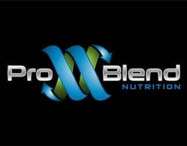 #588 cho Design a Logo for PRO-BLEND NUTRITION bởi alkalifi