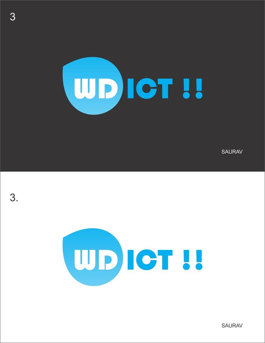 #13 for Create a corporate design for a ICT solutions company by sauravsingh