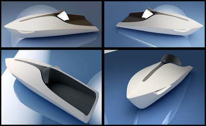 3D Modelling Contest Entry #14 for Concept Boat Design - 1 concept only