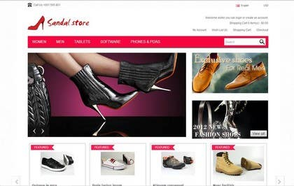 #3 for joomla online store with design and CMS by hostdude1