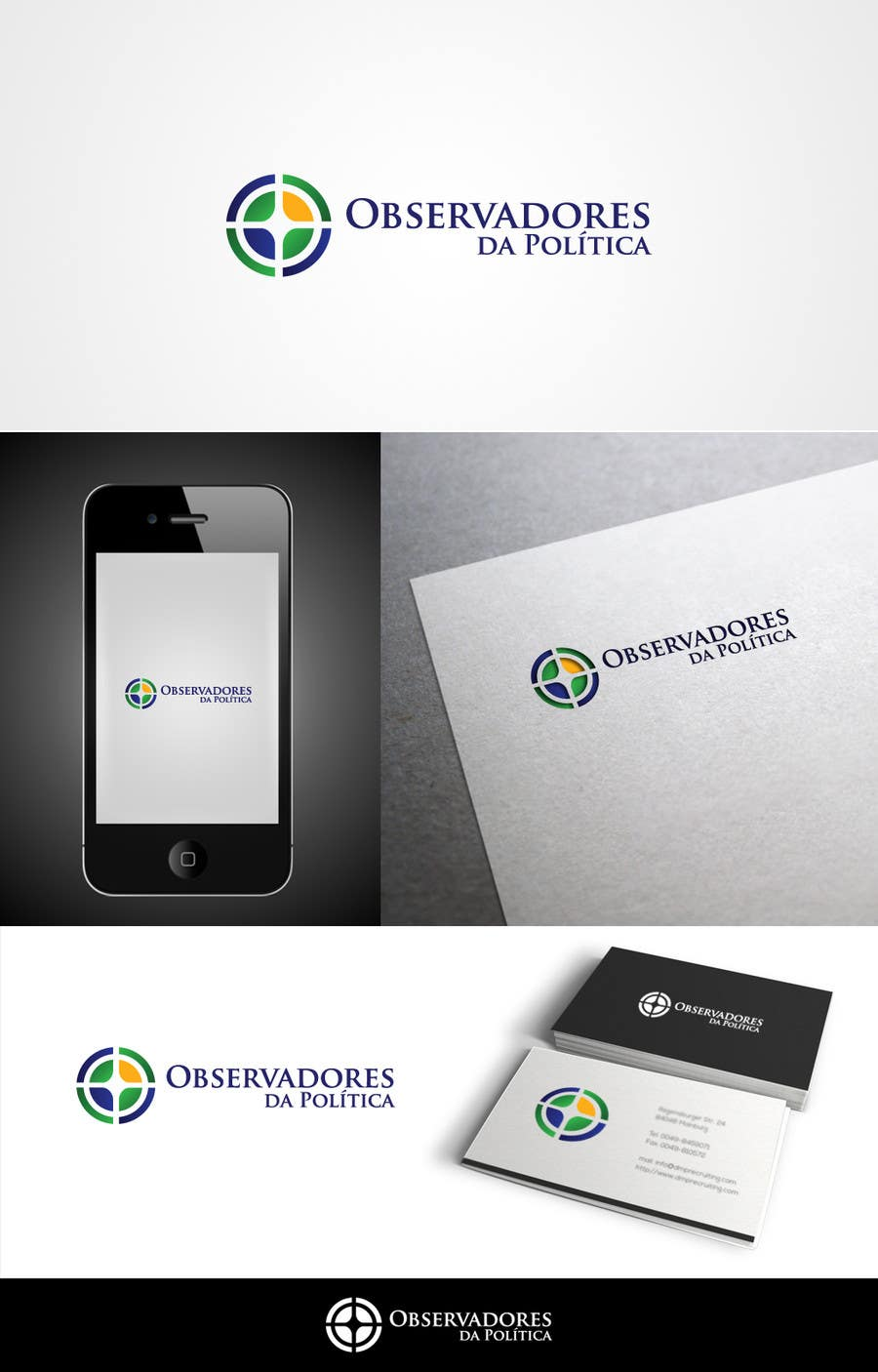 #114 for Projetar um Logo for Observadores da Política by skrDesign21