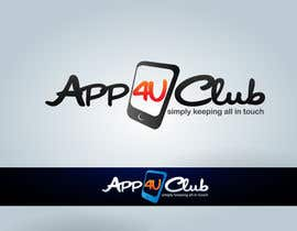 #366 para Logo Design for App 4 u Club por Rainner
