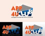 Graphic Design Kilpailutyö #244 kilpailuun Logo Design for App 4 u Club