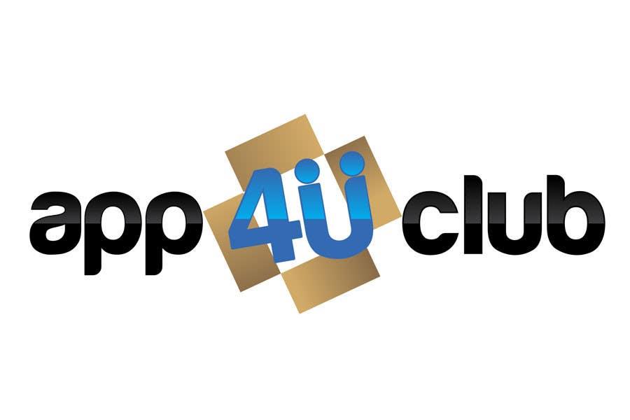Kilpailutyö #409 kilpailussa Logo Design for App 4 u Club