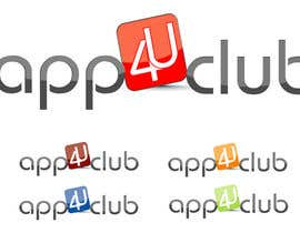 #58 cho Logo Design for App 4 u Club bởi shirlei