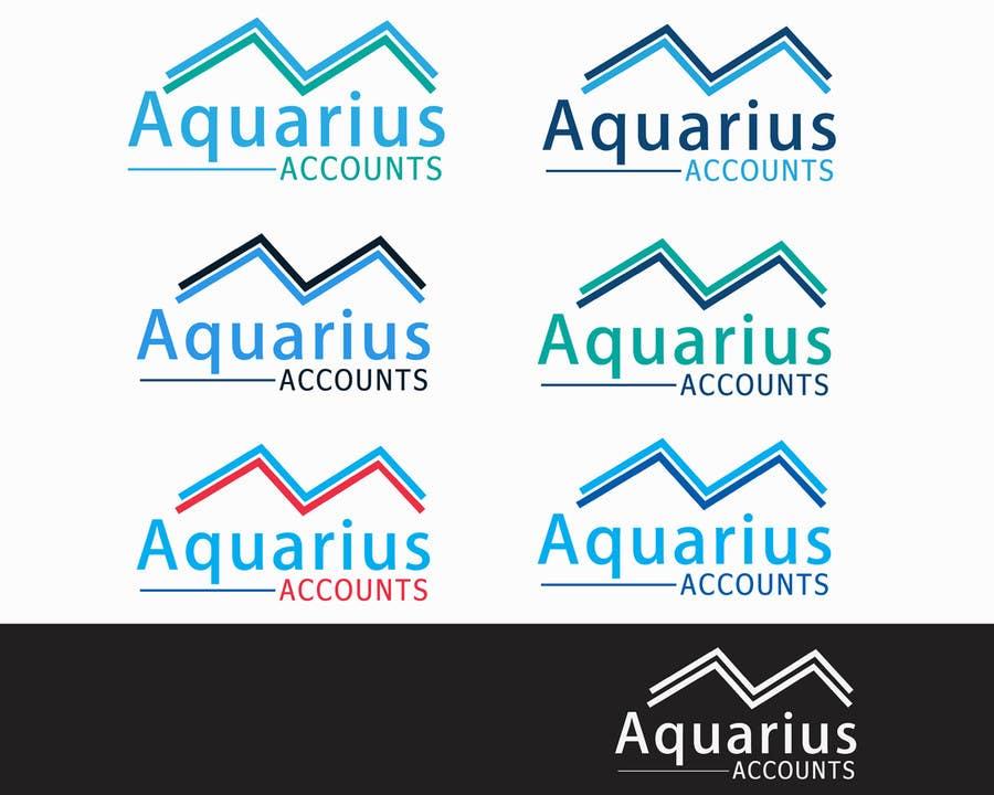 #149 for Design a Logo for Aquarius Accounts by pankaj86