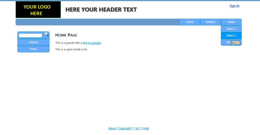 Bài tham dự cuộc thi #                                        4                                      cho                                         Create a Site.Master for a VB.NET Website
