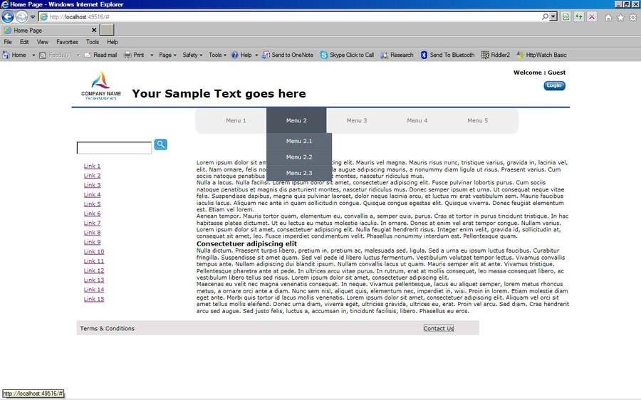 Bài tham dự cuộc thi #                                        2                                      cho                                         Create a Site.Master for a VB.NET Website