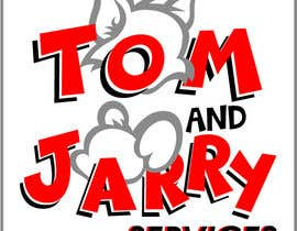 Nro 14 kilpailuun Design a Logo for Tom and Jarry Services - NB this logo must be based upon Tom and Jerry and include characters based on this. DO not submit unless this is done käyttäjältä vmsdesign