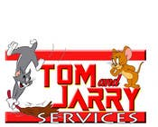Contest Entry #30 for Design a Logo for Tom and Jarry Services - NB this logo must be based upon Tom and Jerry and include characters based on this. DO not submit unless this is done