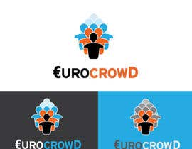 #109 para Design a logo for EUROCROWD por weblocker