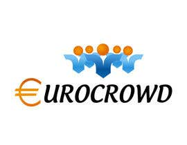 #46 for Design a logo for EUROCROWD af fasalbaba1