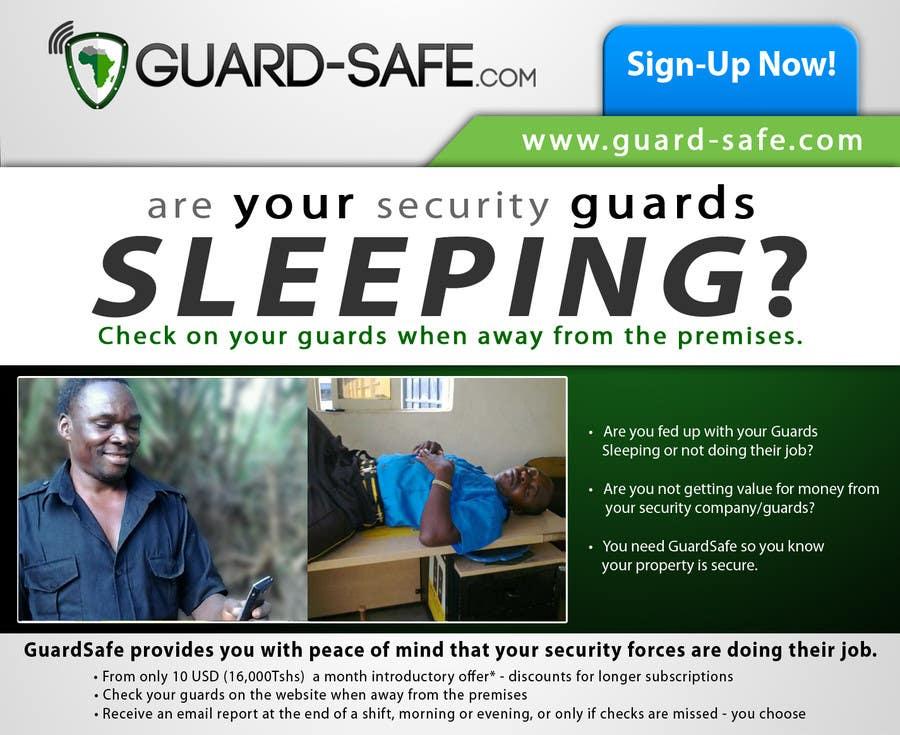 Inscrição nº 32 do Concurso para I need some Graphic Design for www.guard-safe.com