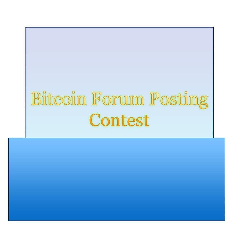 Inscrição nº                                         9                                      do Concurso para                                         Bitcoin Forum Posting Contest