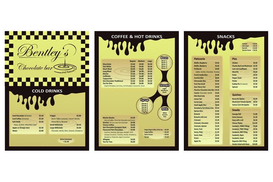 Entri Kontes #                                        54                                      untuk                                        Graphic Design for Bentley's Chocolate Bar