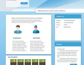 #3 for Design a Website Mockup for ColdfusionAdmins.com by sirajthapa18