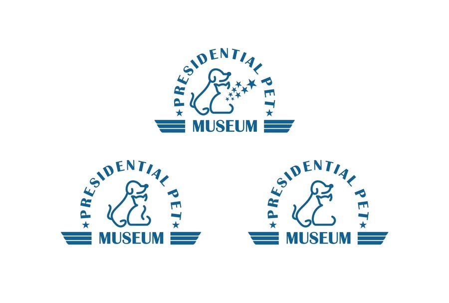 #120 for Design a Logo for Presidential Pet Museum by noelniel99