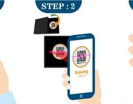 #16 para Infographic for how to login to app using QR code de pranj007