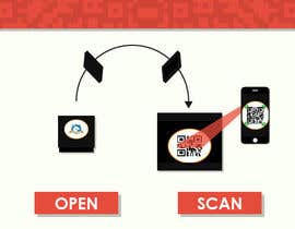 #8 para Infographic for how to login to app using QR code de pagrafy