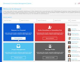 #17 for Mock-up design for consultant marketplace website by CharlesNgu