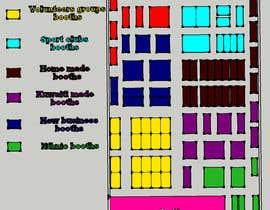 nº 5 pour 2D and 3D map and design an exhibition activity par ARTandFASHION