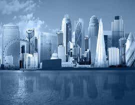 #47 untuk Create a composite landing page image of the London financial skyline oleh nishankumar