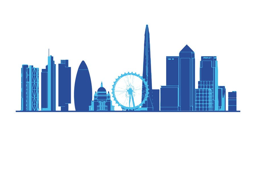 #2 for Create a composite landing page image of the London financial skyline by anamiruna