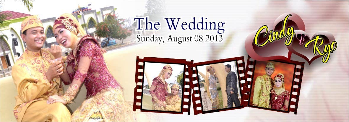 #3 for i need 5 wedding banners designed by Sudjarwovovich