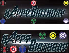 nº 7 pour i need 5 designs for birthday banners par GreenworksInc