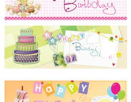 #2 for i need 5 designs for birthday banners af sedayu