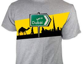 #129 for Design a T-Shirt for Dubai! af jaskovw